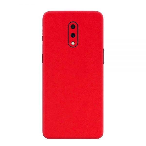 Skin Roșu Mat OnePlus 7