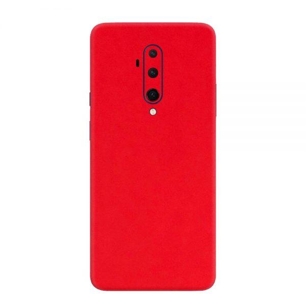 Skin Roșu Mat OnePlus 7T Pro
