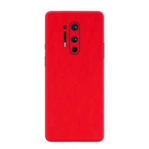Skin Roșu Mat OnePlus 8 Pro