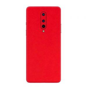 Skin Roșu Mat OnePlus 8