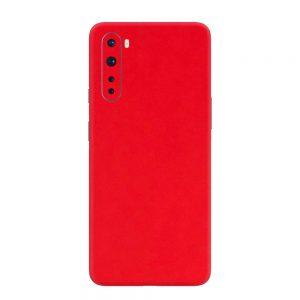 Skin Roșu Mat OnePlus Nord