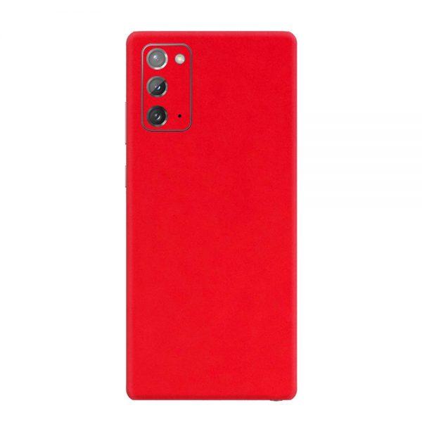 Skin Roșu Mat Samsung Galaxy Note 20