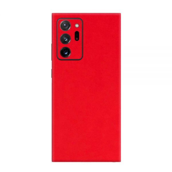 Skin Roșu Mat Samsung Galaxy Note 20 Ultra