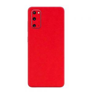 Skin Roșu Mat Samsung Galaxy S20