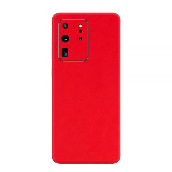 Skin Roșu Mat Samsung Galaxy S20 Ultra