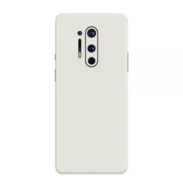 Skin Alb Mat OnePlus 8 Pro