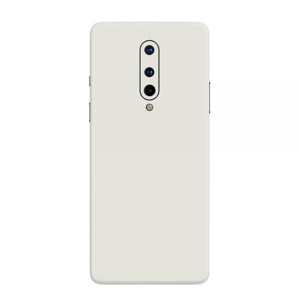 Skin Alb Mat OnePlus 8