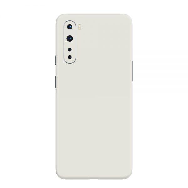 Skin Alb Mat OnePlus Nord