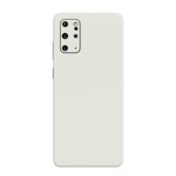Skin Alb Mat Samsung Galaxy S20 Plus