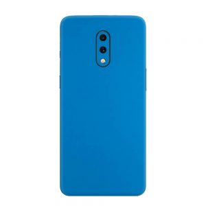 Skin Albastru Mat OnePlus 7