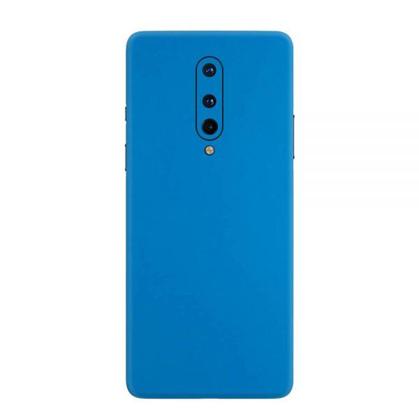 Skin Albastru Mat OnePlus 8