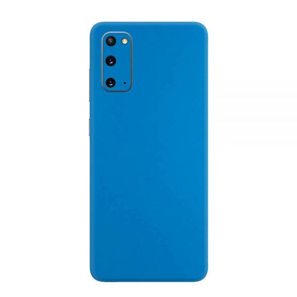 Skin Albastru Mat Samsung Galaxy S20
