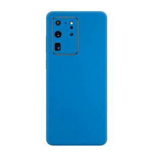 Skin Albastru Mat Samsung Galaxy S20 Ultra