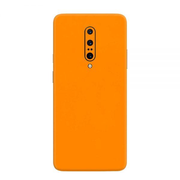 Skin Portocaliu Mat OnePlus 7 Pro