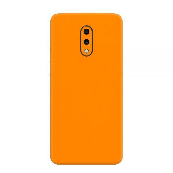 Skin Portocaliu Mat OnePlus 7