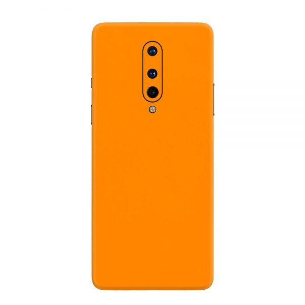 Skin Portocaliu Mat OnePlus 8