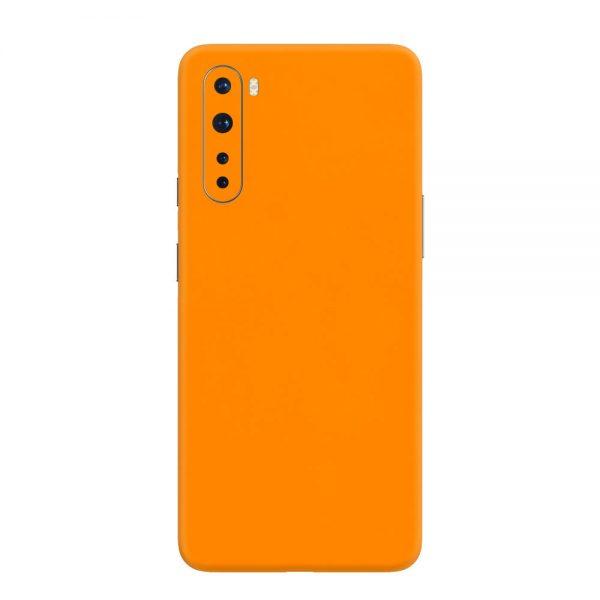Skin Portocaliu Mat OnePlus Nord