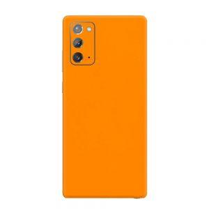 Skin Portocaliu Mat Samsung Galaxy Note 20