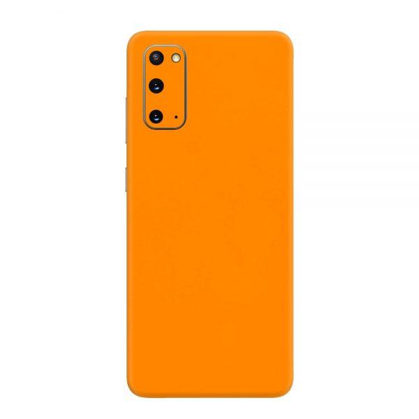 Skin Portocaliu Mat Samsung Galaxy S20