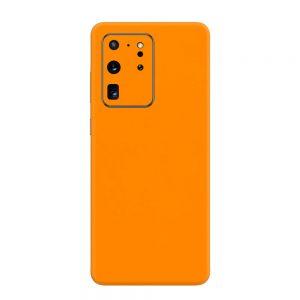 Skin Portocaliu Mat Samsung Galaxy S20 Ultra
