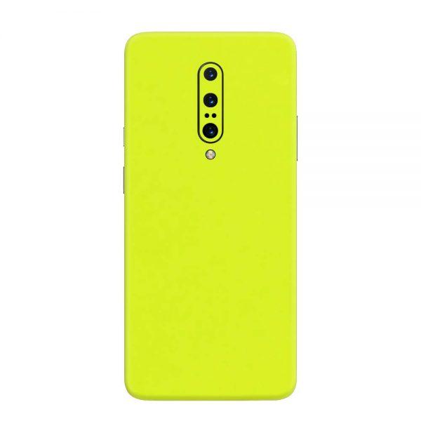 Skin Verde Neon Metalizat OnePlus 7 Pro