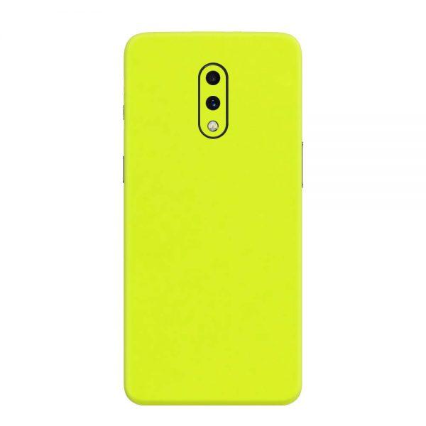 Skin Verde Neon Metalizat OnePlus 7