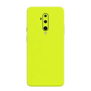 Skin Verde Neon Metalizat OnePlus 7T Pro