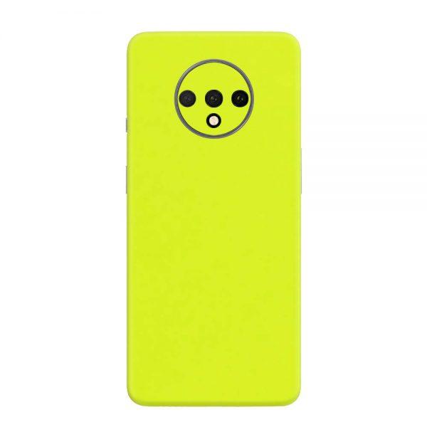 Skin Verde Neon Metalizat OnePlus 7T