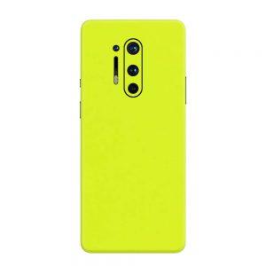 Skin Verde Neon Metalizat OnePlus 8 Pro