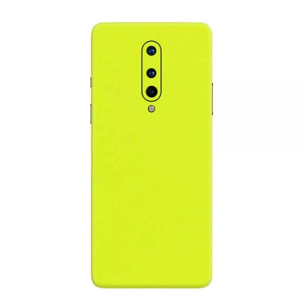 Skin Verde Neon Metalizat OnePlus 8
