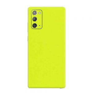 Skin Verde Neon Metalizat Samsung Galaxy Note 20