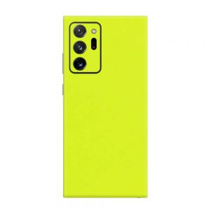 Skin Verde Neon Metalizat Samsung Galaxy Note 20 Ultra