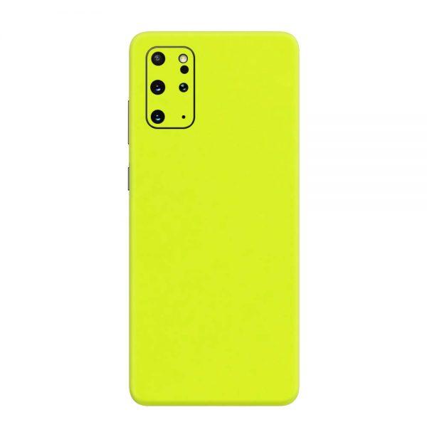 Skin Verde Neon Metalizat Samsung Galaxy S20 Plus
