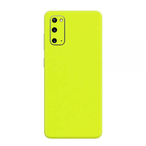 Skin Verde Neon Metalizat Samsung Galaxy S20