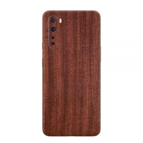 Skin Lemn de Mahon OnePlus Nord