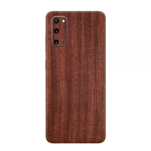 Skin Lemn de Mahon Samsung Galaxy S20