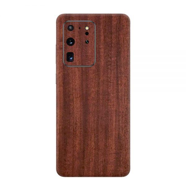 Skin Lemn de Mahon Samsung Galaxy S20 Ultra