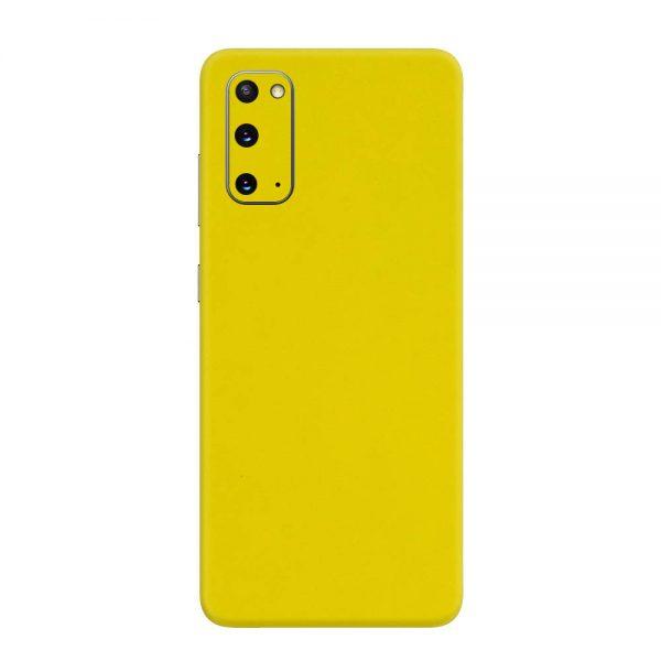 Skin Galben Lucios Samsung Galaxy S20