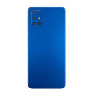 Skin Metal Albastru Mat Samsung Galaxy A71