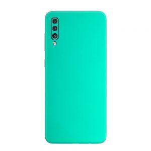 Skin Crom Verde Smarald Mat Samsung Galaxy A70
