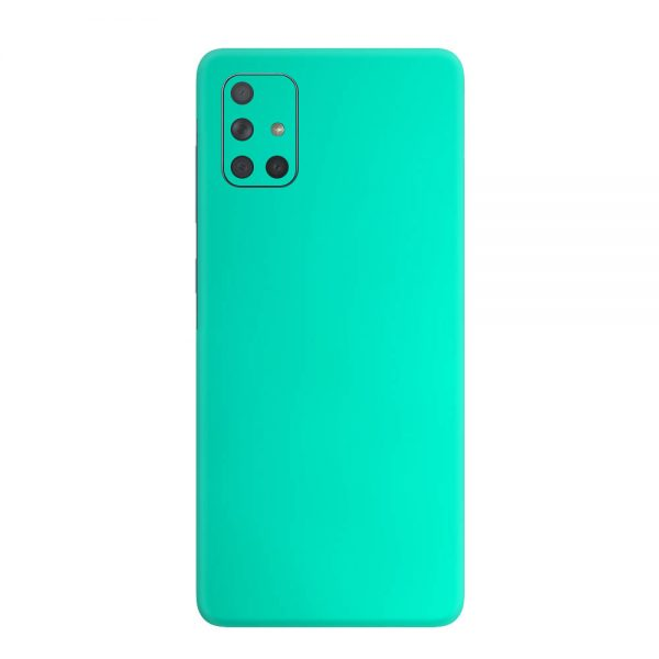 Skin Crom Verde Smarald Mat Samsung Galaxy A71