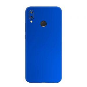 Skin Crom Albastru Mat Huawei P20 Lite