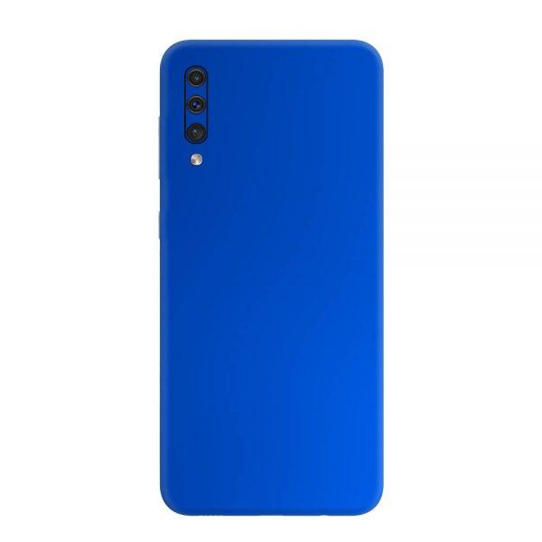 Skin Crom Albastru Mat Samsung Galaxy A50