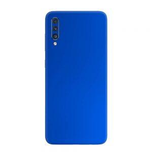 Skin Crom Albastru Mat Samsung Galaxy A70
