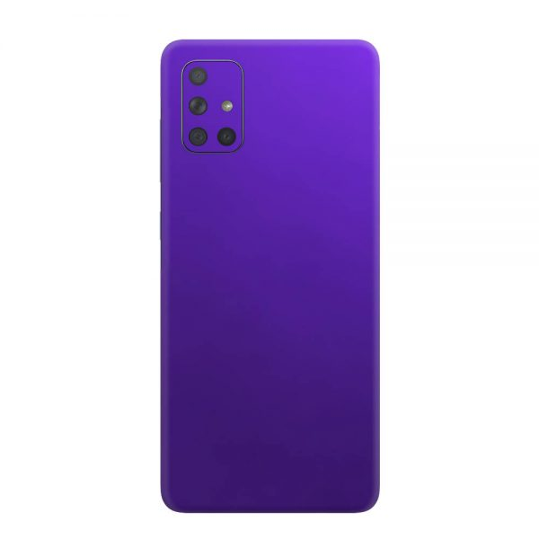 Skin Crom Violet Mat Samsung Galaxy A71