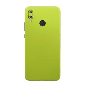 Skin Crom Galben Verzui Mat Huawei P20 Lite
