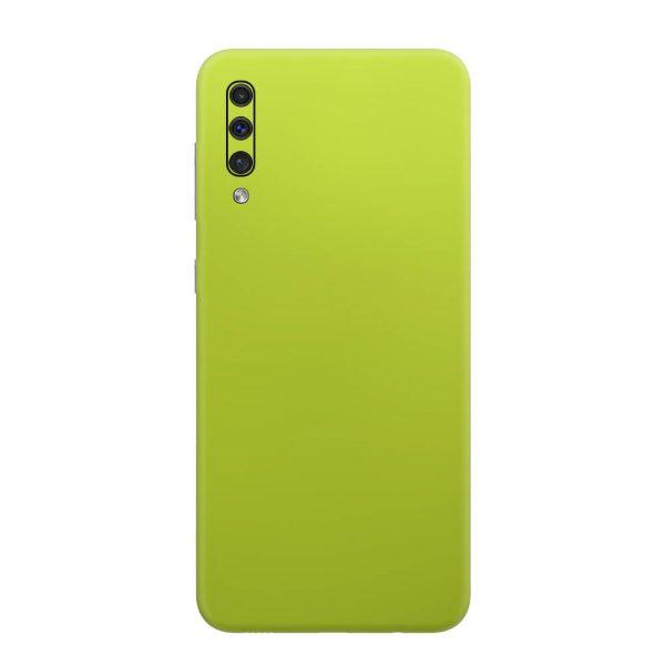 Skin Crom Galben Verzui Mat Samsung Galaxy A50