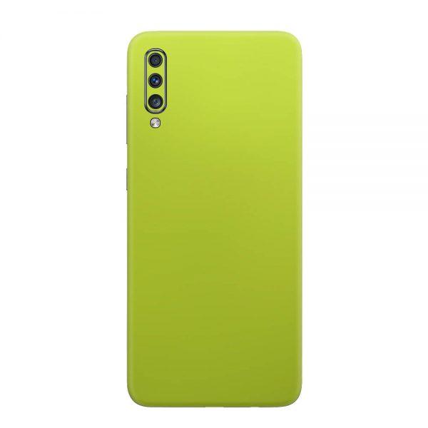 Skin Crom Galben Verzui Mat Samsung Galaxy A70