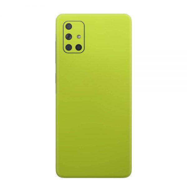 Skin Crom Galben Verzui Mat Samsung Galaxy A71