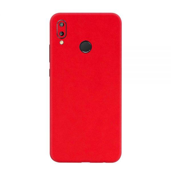 Skin Roșu Mat Huawei P20 Lite